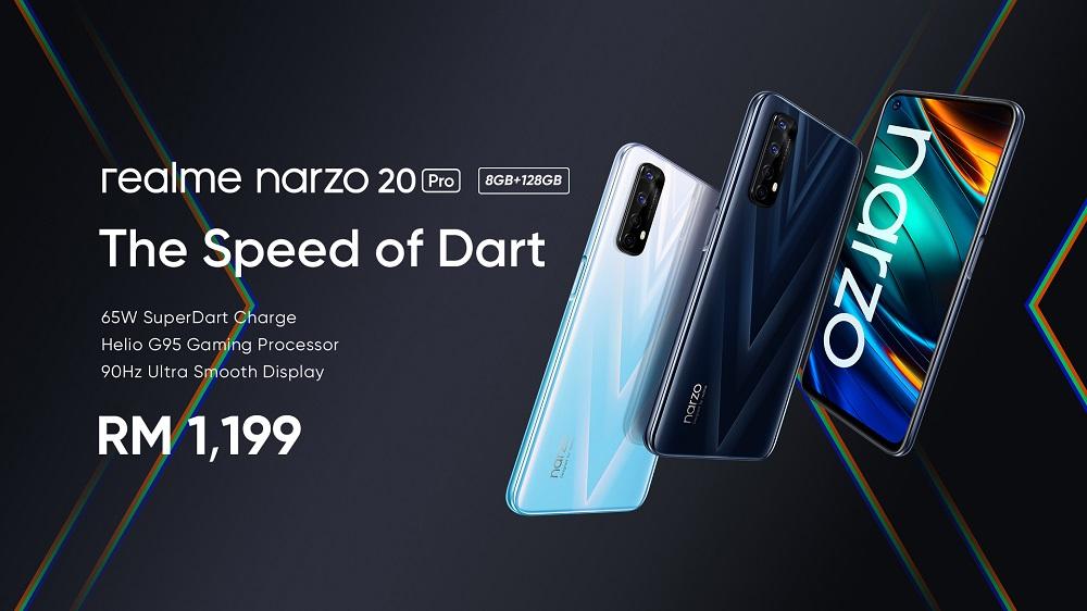 realme narzo 20 Pro 8GB+128GB