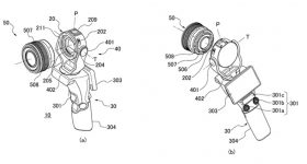 Canon Patent One-Handed Camera Interchangeable Lens