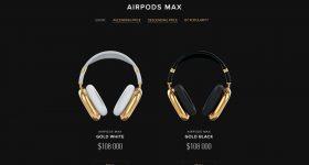 Caviar Gold AirPods Max