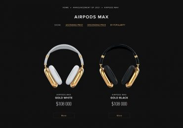 Caviar Gold AirPods Max