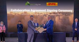 DHL Express Partners With Aerodyne Group Drone Delivery Service Malaysia