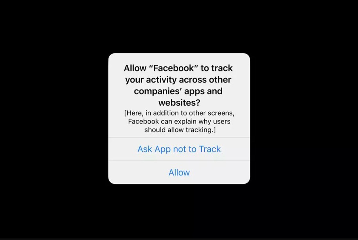 Facebook Apple iOS 14 privacy changes Newspaper Ads