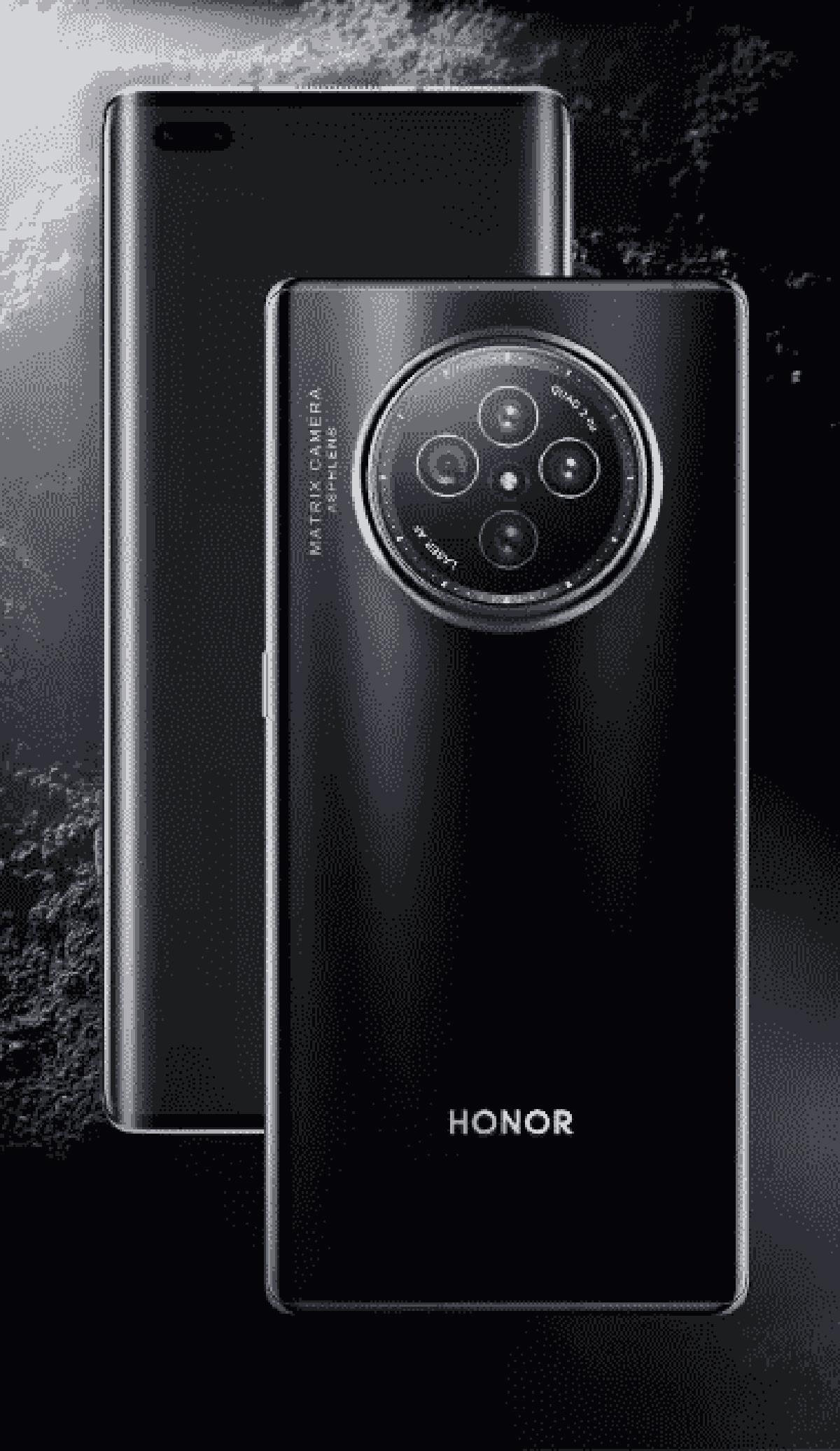 Honor V40 Design Leak