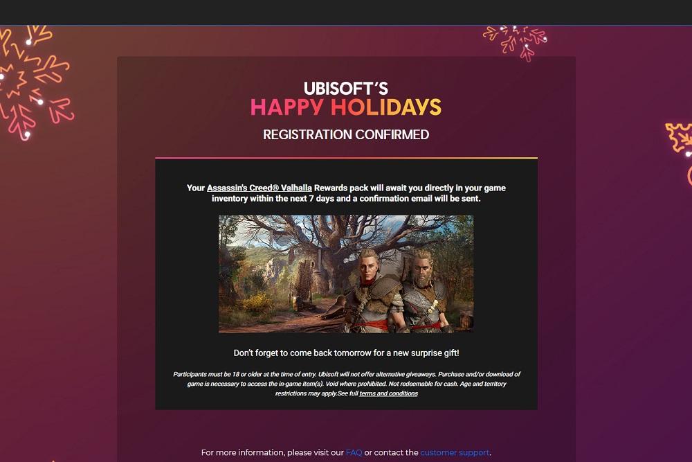 Ubisoft free grift giveaway