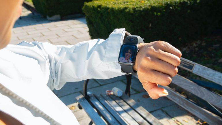 Wristcam Apple Watch Strap Dual Cameras