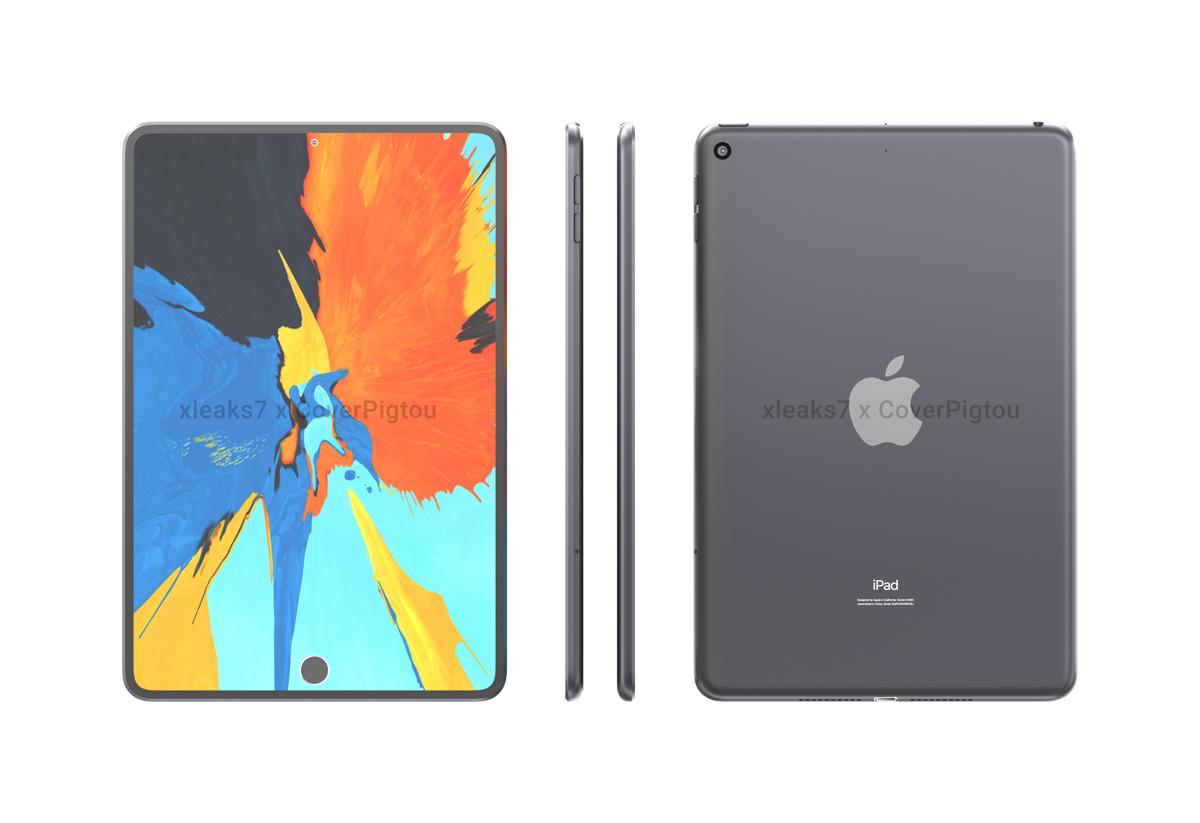 Apple iPad mini 6 leak dual in-display punch-holes