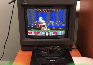 Doom Sega Genesis Mega Drive
