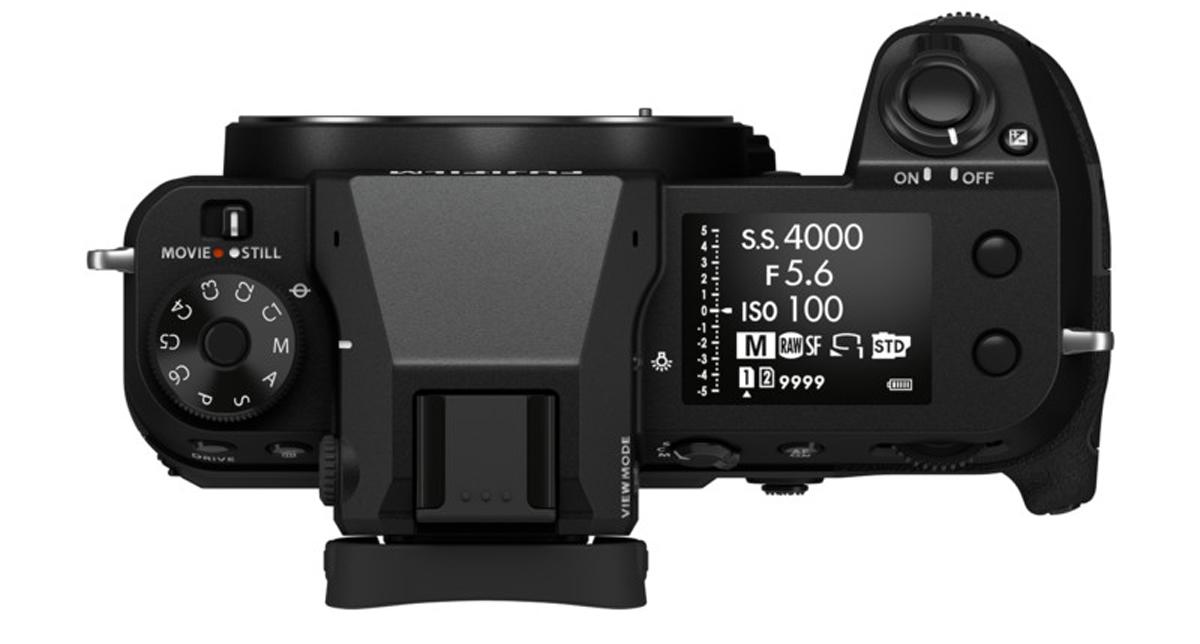 Fujifilm GFX100S Medium format compact camera 102MP