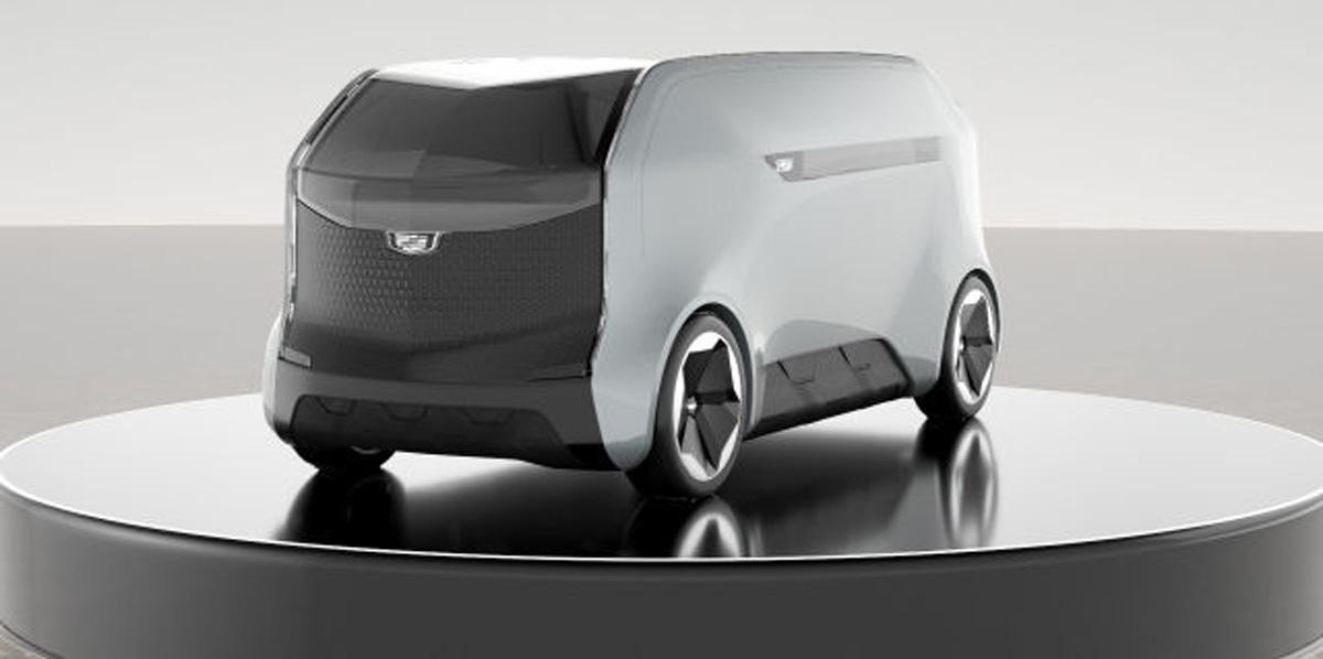 General Motors Cadillac VTOL craft vehicle concept