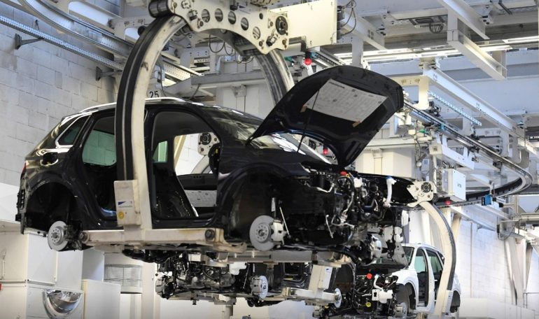 Germany Taiwan Semiconductor Chip Shortages Volkswagen