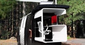 Nissan NV350 Office Pod Concept Vehicle