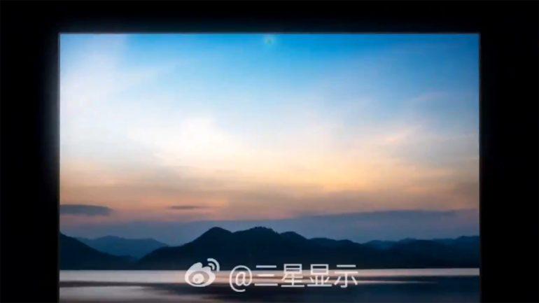 Samsung Under-Display Camera Blade Bezel Laptop