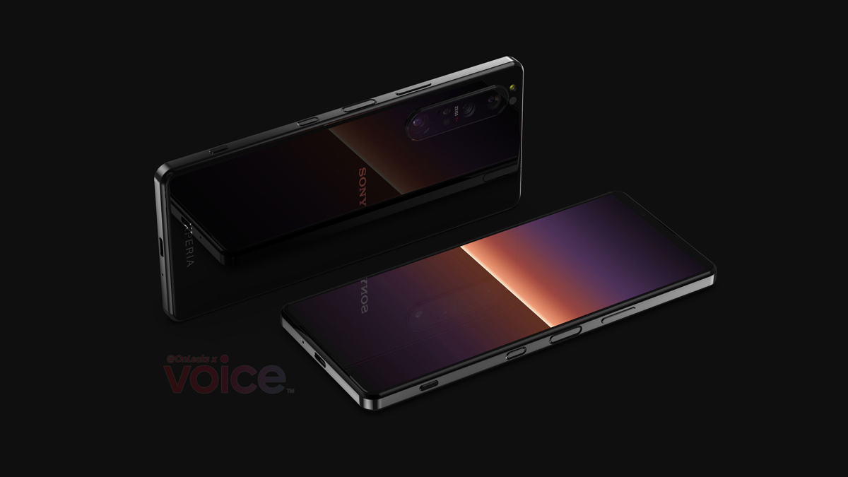 Sony Xperia 1 III design leaks periscope camera