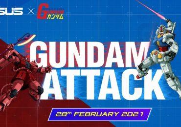 ASUS Malaysia Gundam Collaboration