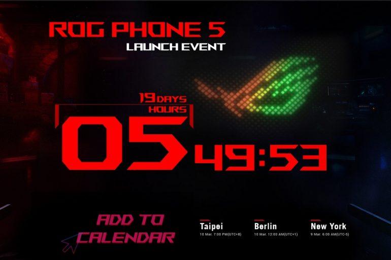 ASUS ROG Phone 5 launch