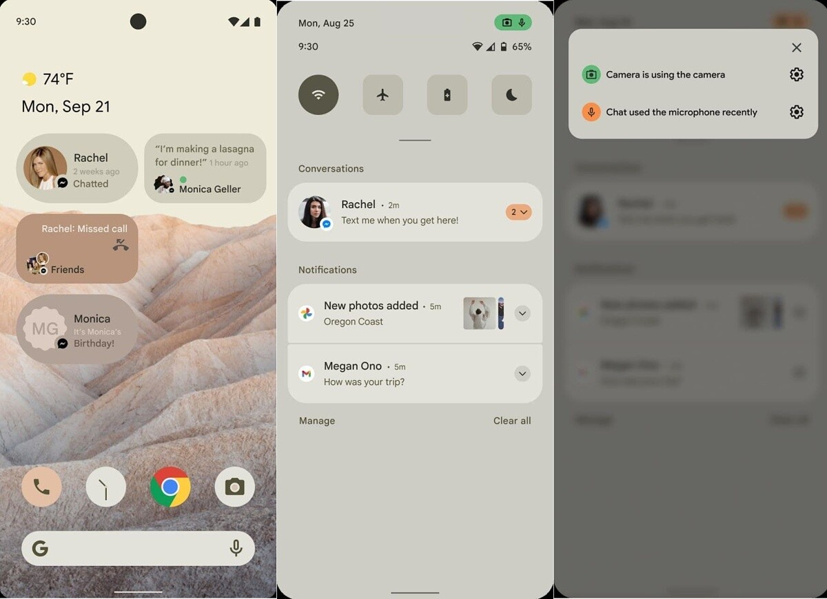 Potential Android 12 UI Mockup Leaks; Reveals Cleaner ...