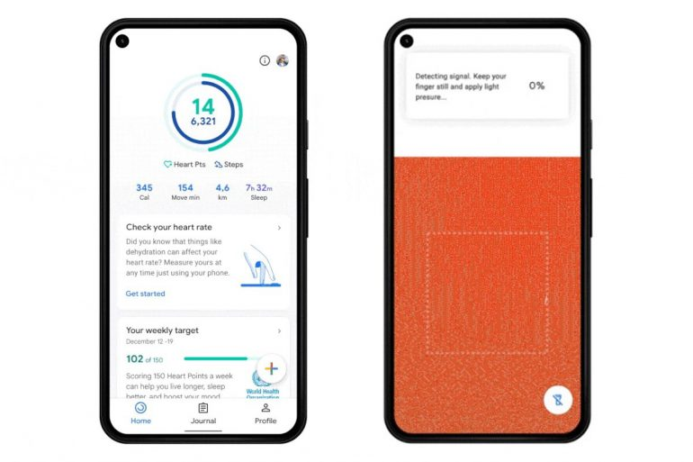 Android Users Measure Heart Rate Rear Camera