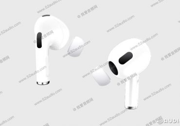 Apple AirPods 3 render