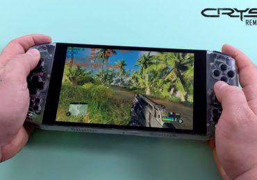 Aya Neo founder Crysis Remastered