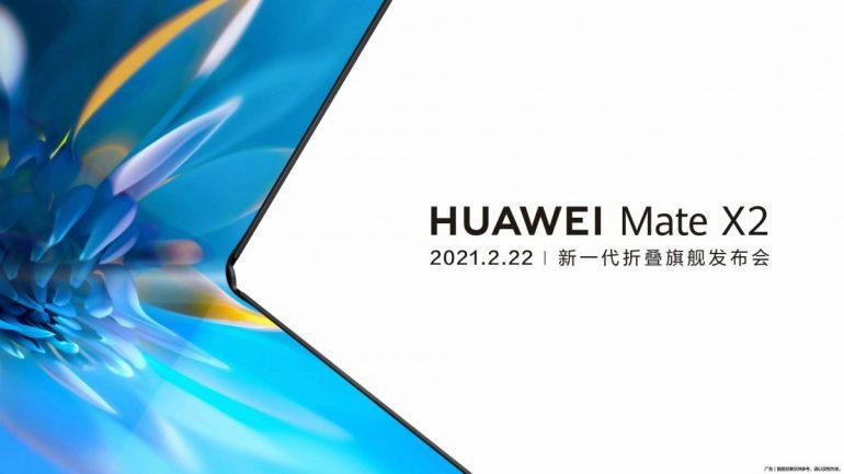 Huawei Mate X2 Launch China February
