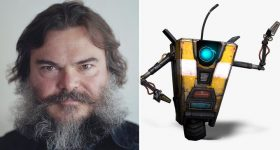 Jack Black Claptrap Borderlands movie