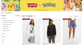Levi's Malaysia Pokemon