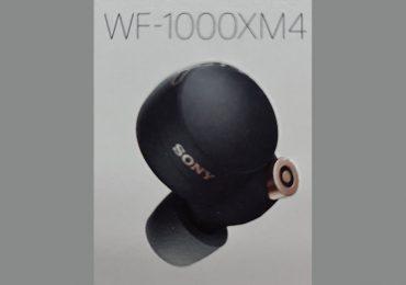 Sony WF-1000XM4 TWS Earbuds Leaks Design