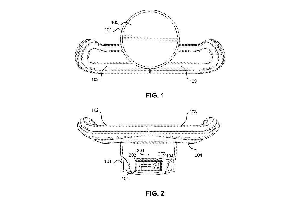Sony new back button attachment patent accessory only crop