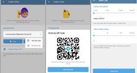 Telegram 7.5 Beta Introduces QR Code Group Invitation And More