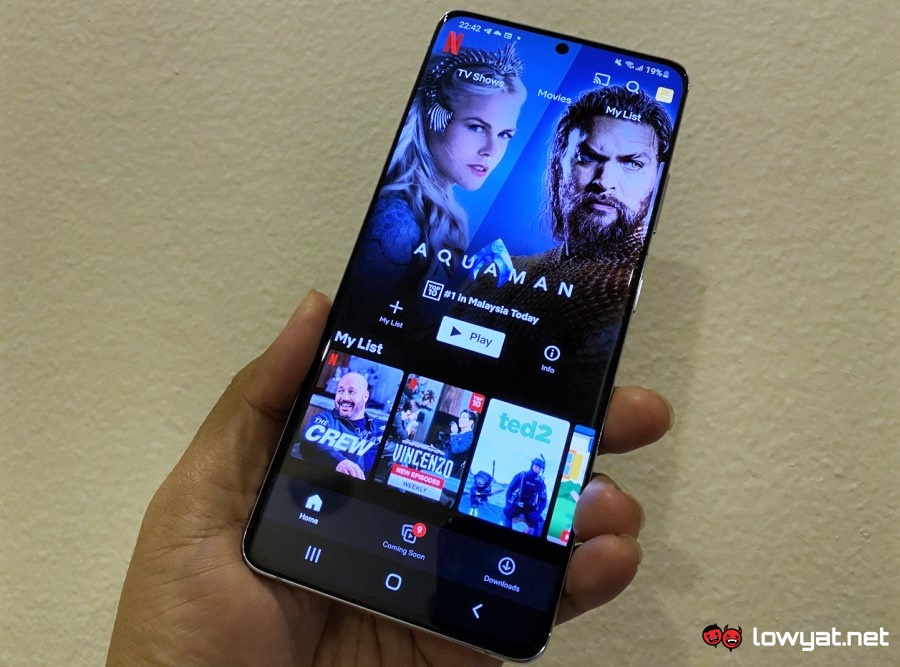 Netflix content feature Android iOS app