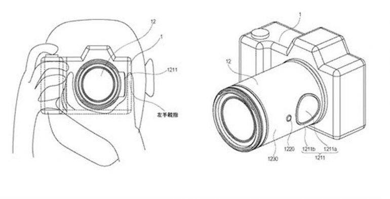 Canon Patent Touchpad tech Focus Ring