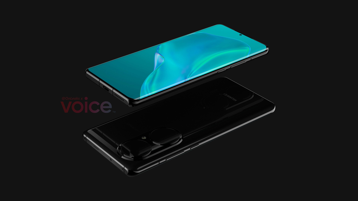 Huawei P50 pro Design Leaks Rear Camera Array