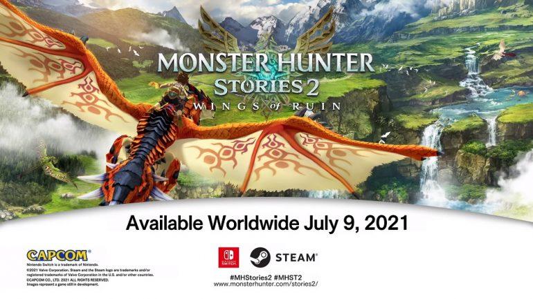 Monster Hunter Stories 2 release