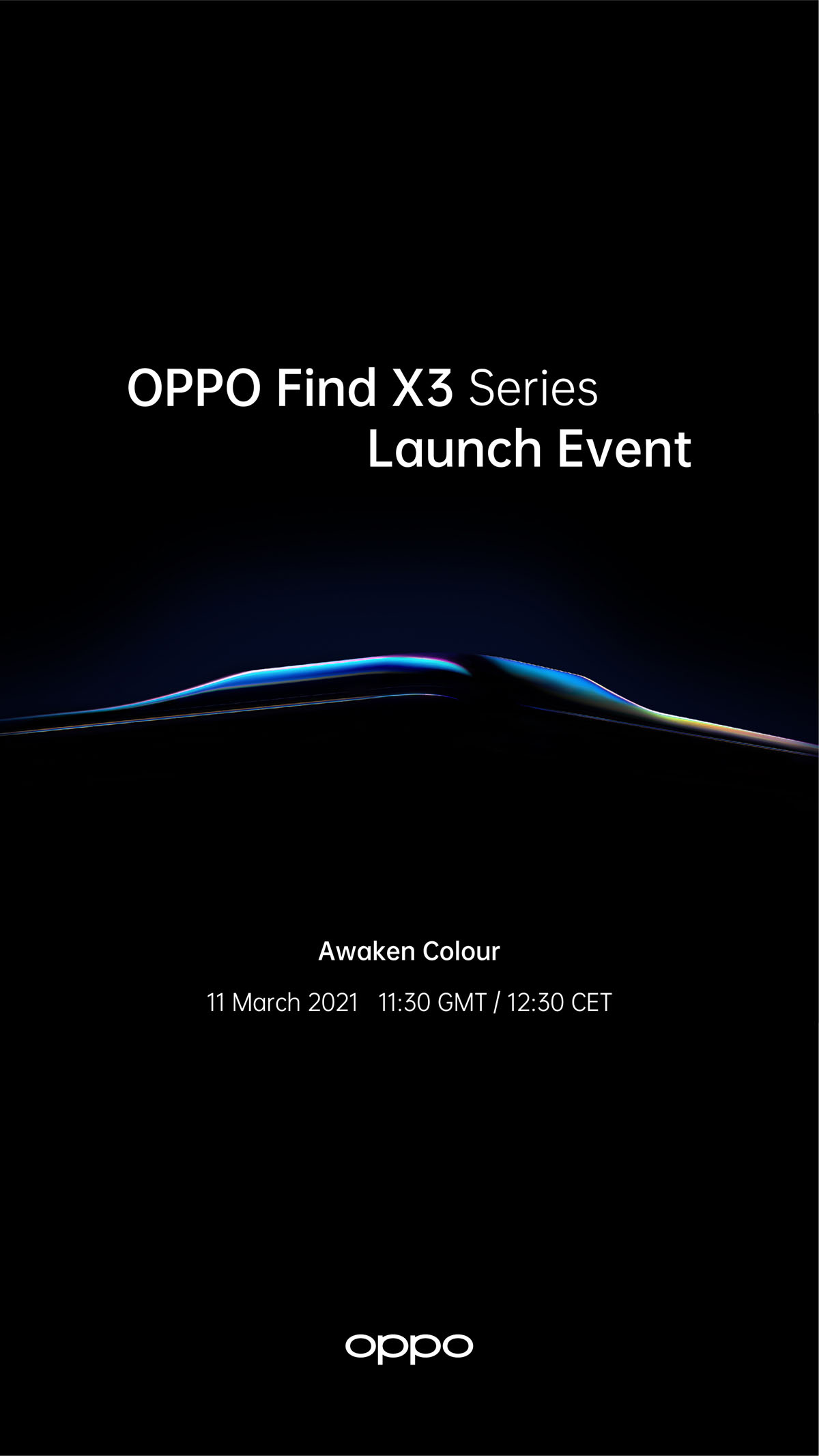OPPO Find X3 Series Launch Official March