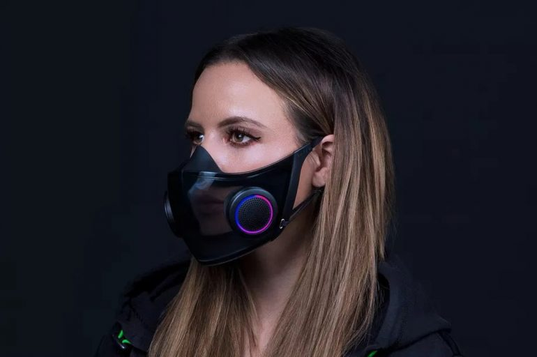 Razer Project Hazel RGB Face Mask N95 Production