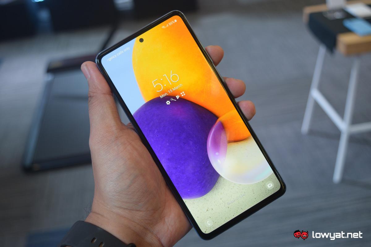 Samsung Galaxy A Series A72 A52 A32 3