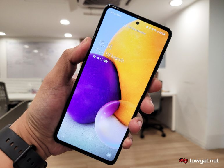 Samsung Galaxy A72 Hands On