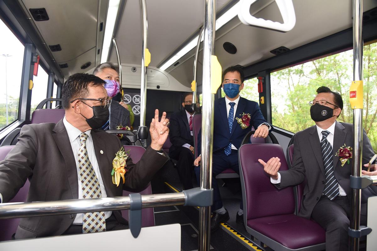 Sarawak Commence Free Electric City Bus Service Kuching