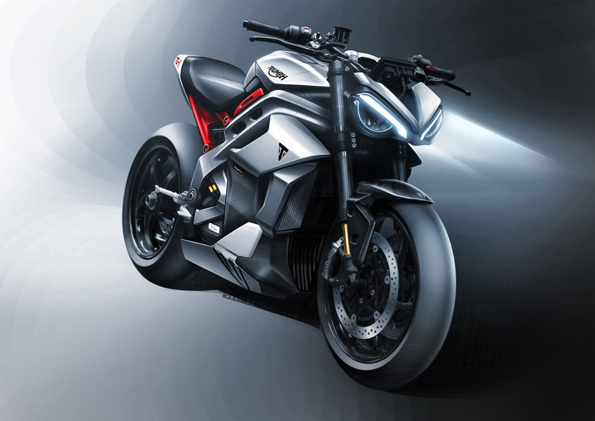 Triumph TE-1 Electric Motorcycle Concept