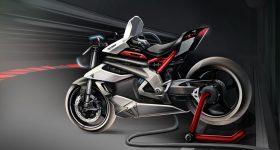 Triumph TE-1 Electric Motorcycle Concept