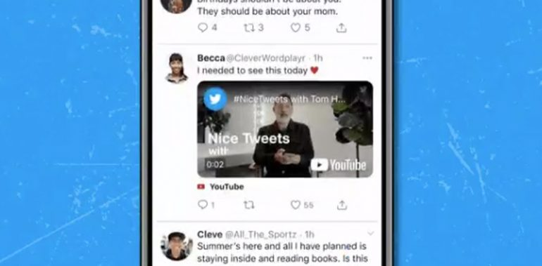 Twitter Testing YouTube Videos iOS