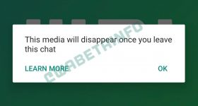 WhatsApp Working on Disappearing Images Feature