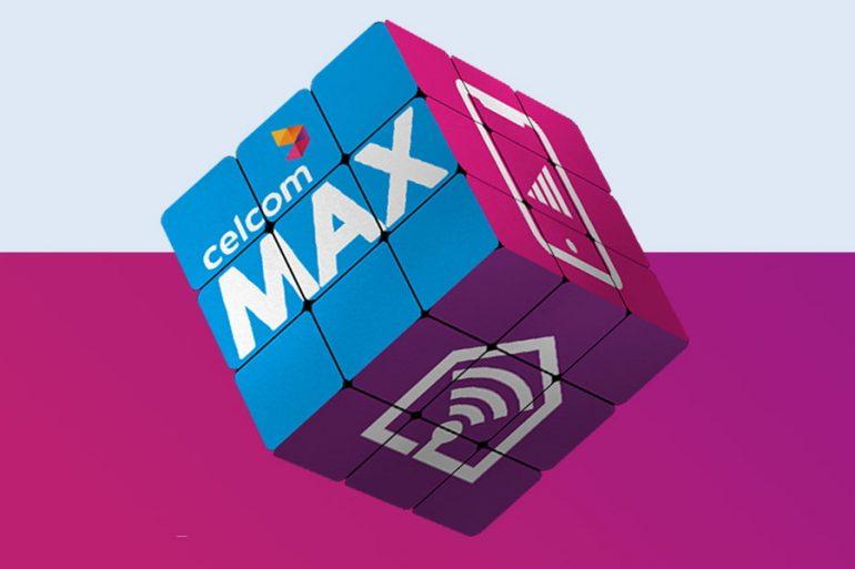 Celcom Max Launched Home Fibre MEGA postpaid