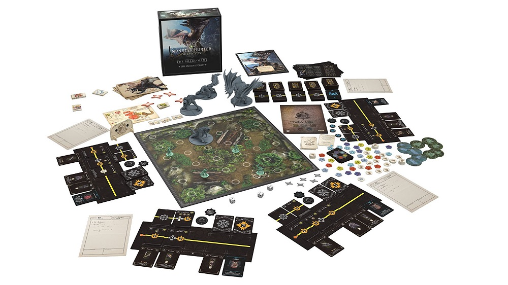 monster hunter world box spill