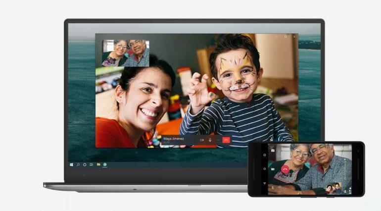 whatsapp video voice call feature desktop app