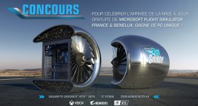 Microsoft Flight Simulator Giveaway Jet Engine Gaming PC