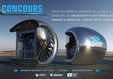 Microsoft Flight Simulator Giveaway Jet Engine Gaming PC