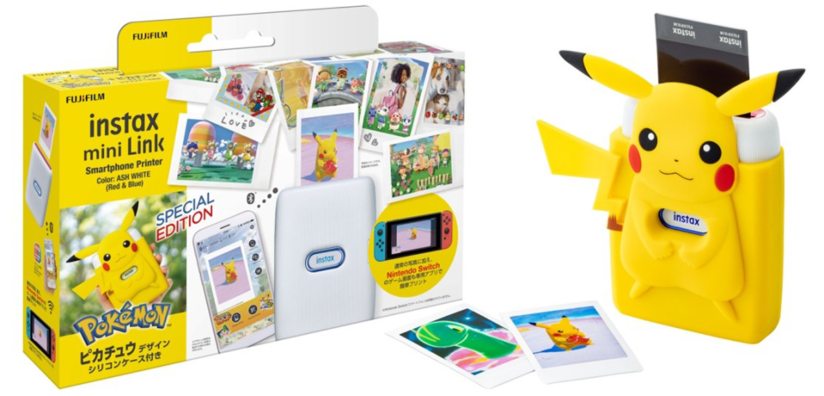 New Pokemon Snap Fujifilm Instax Mini Link printer special edition