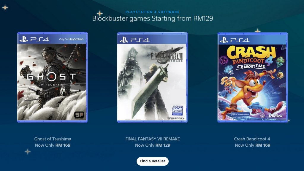 PlayStation Ramada Deals physical games discount