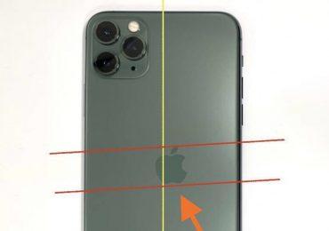 iPhone 11 Pro misprinted apple logo